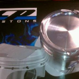 CP lower compression pistons 9.0:1
